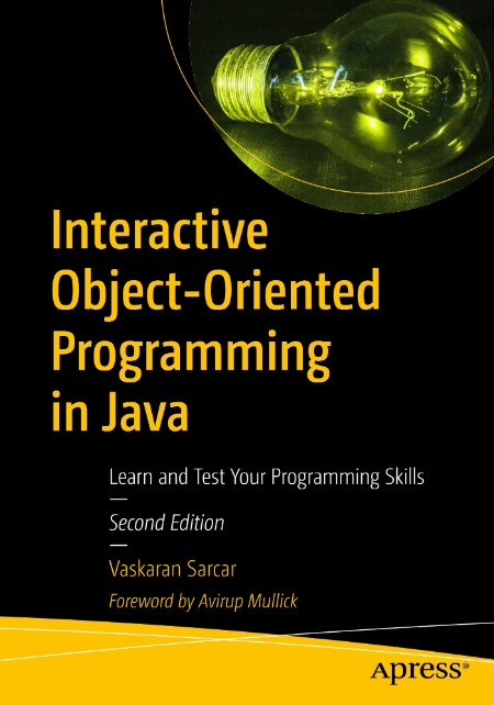 Interactive Object Oriented Programming In Java 2nd Ed 2020