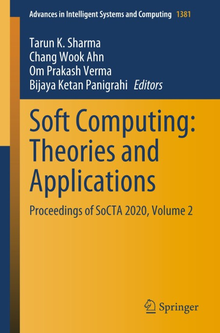 Soft Computing - Theories and Applications - Proceedings of SoCTA 2020, Volume 2