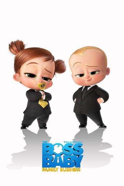 The Boss Baby Family BusiNess 2021 720p WEBRip HQ x265 10bit-GalaxyRG